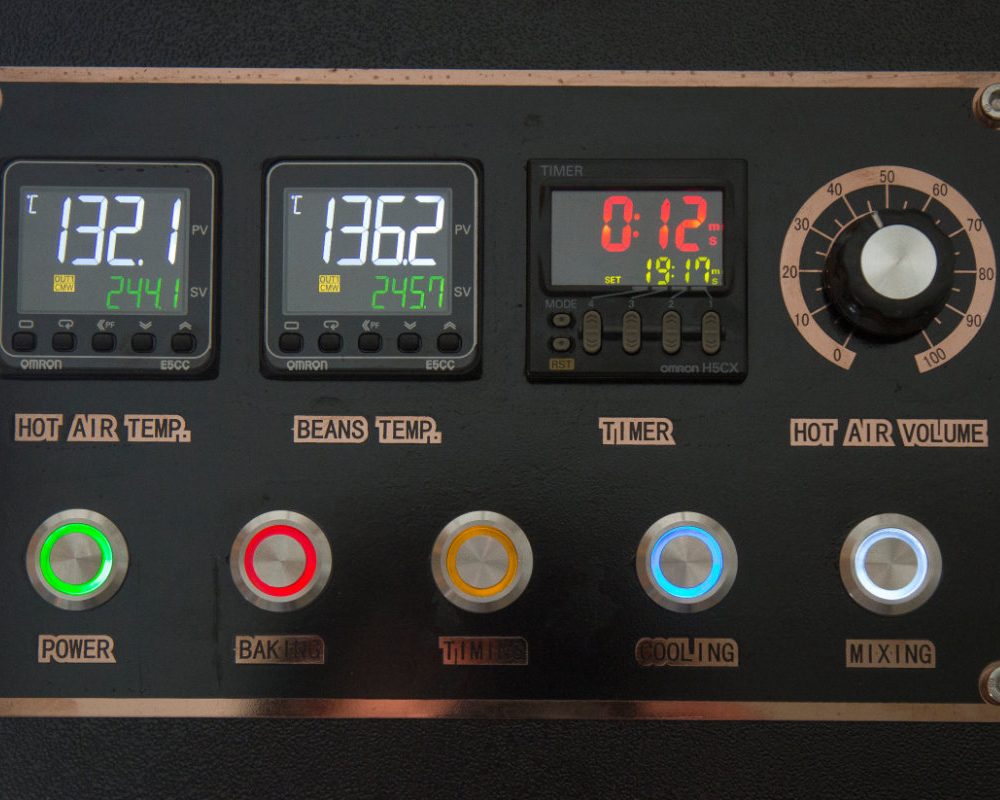 Kaffee-Röster Kontroll-Board