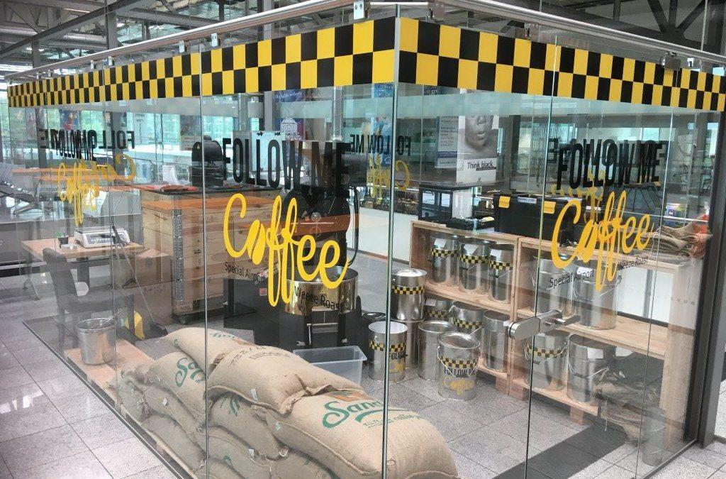 Kaffee live rösten – die gläserne Manufaktur